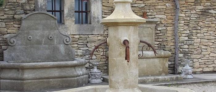 Circular Central Fountain