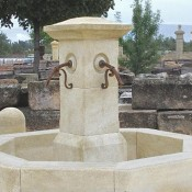 Rustic Central Fountain