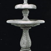 Two Tier Fluer de Lys Fountain