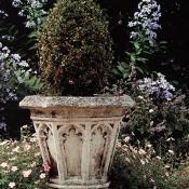 Stone Canterbury Vase