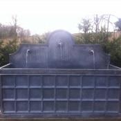 Lead 3 Spout Grid fountain